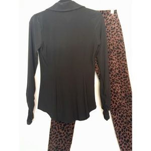 72fc7541db8cbe INC International Concepts Tops - INC sexy ruched front rhinestone button  blouse